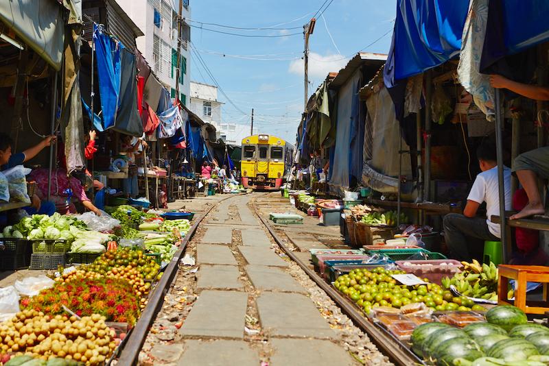 Railway Market, Bangkok