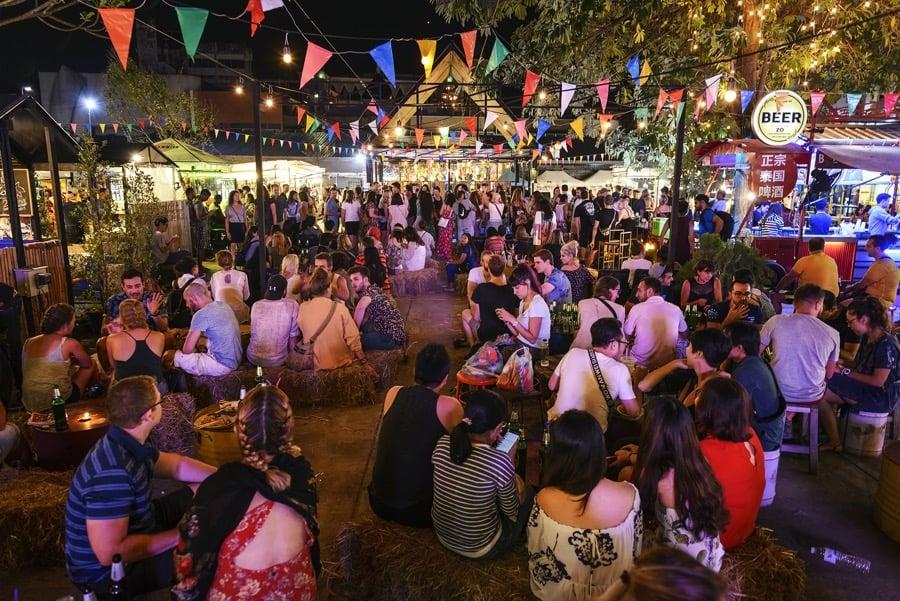 Nigh Bazar di Chiang Mai