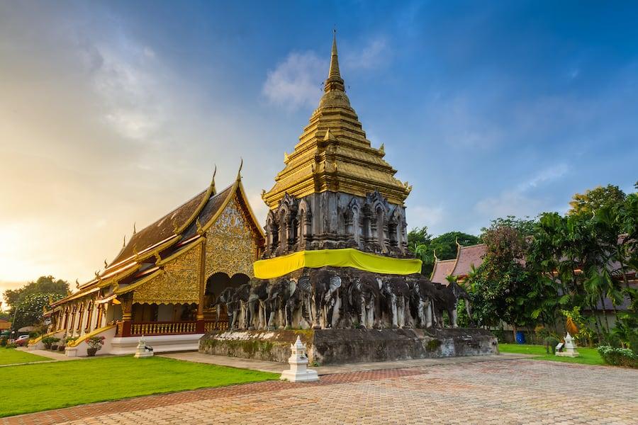 Wat Chiang Man, il più antico tempio di Chiang Mai