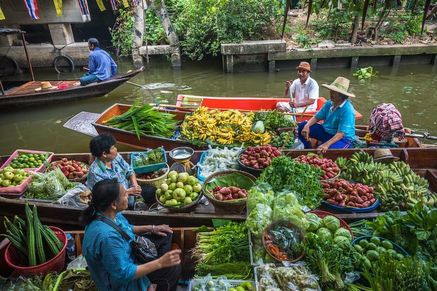 Mercato Khlong Lat Mayom, Bangkok