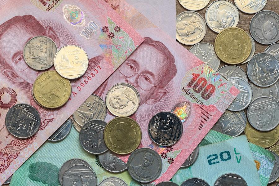 Moneta thailandese e cambio euro baht