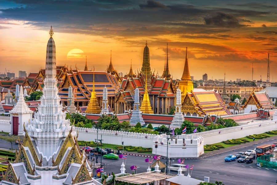 Palazzo reale e Wat Phra Keaw, Bangkok