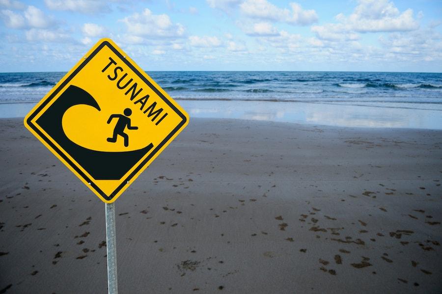 Pericolo di Tsunami in Thailandia