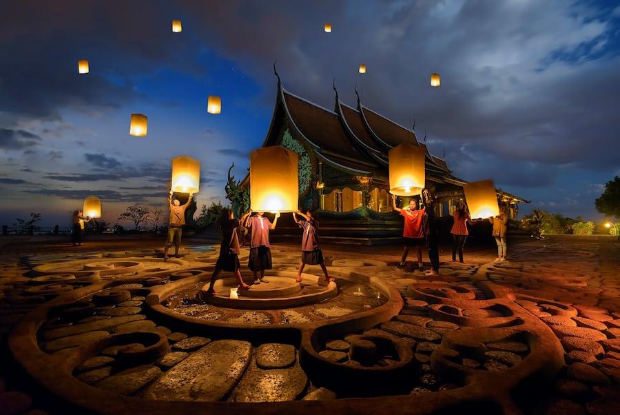 Viaggiare in Thailandia con bambini