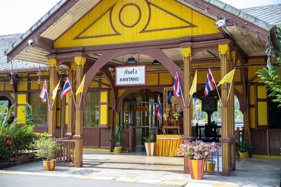 La stazione della città di Kantang, Trang