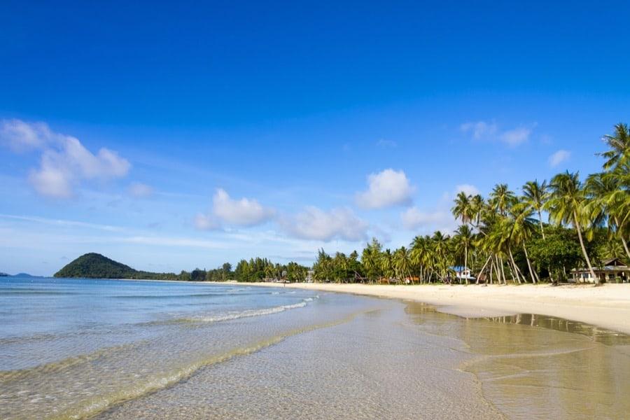 Thung Wua Lan Beach, nel distretto di Chumphon