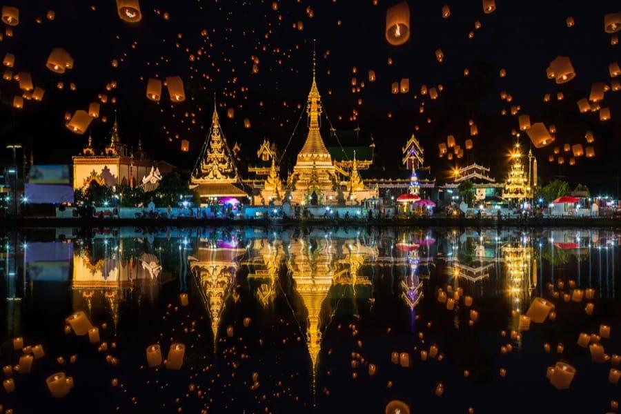 Wat Chong Kham e Wat Chong Klang, Thailandia
