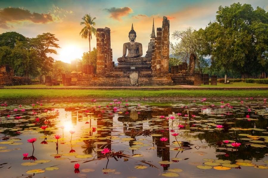 Wat Mahathat di Sukhothai