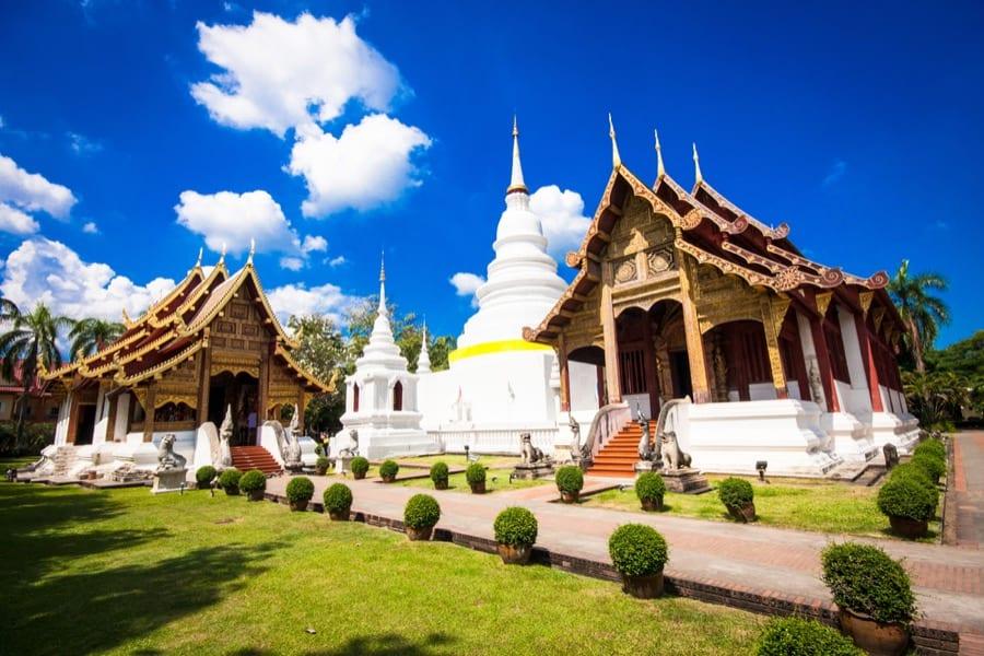 Il tempio Wat Phra Singh, Chiang Rai