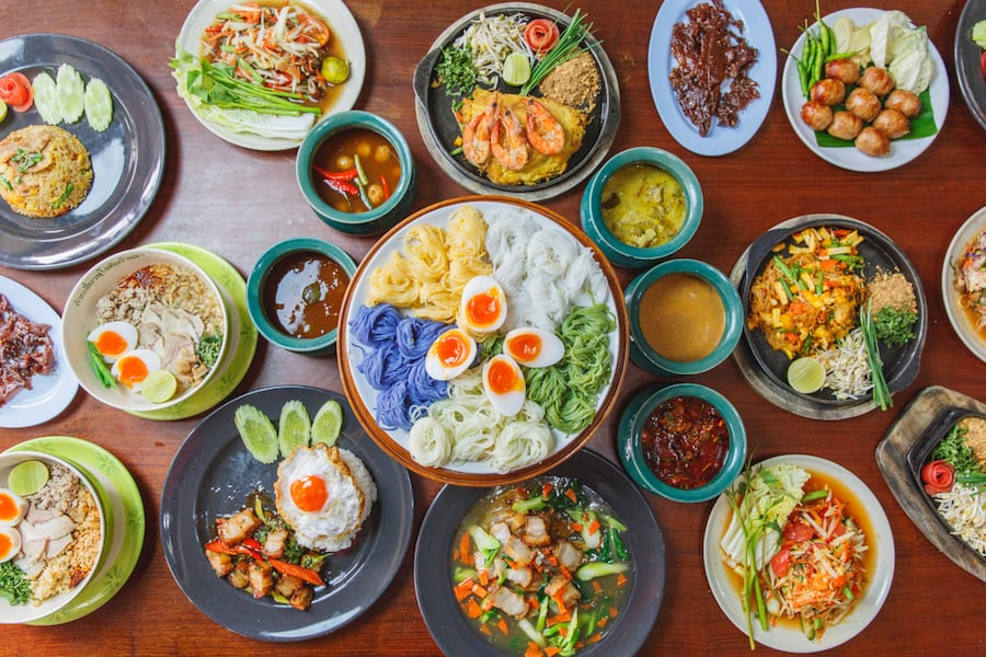 Cucina thailandese: cosa mangiare