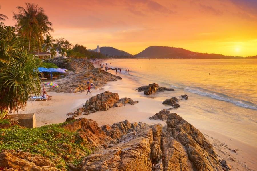 Patong Beach, Isola di Phuket