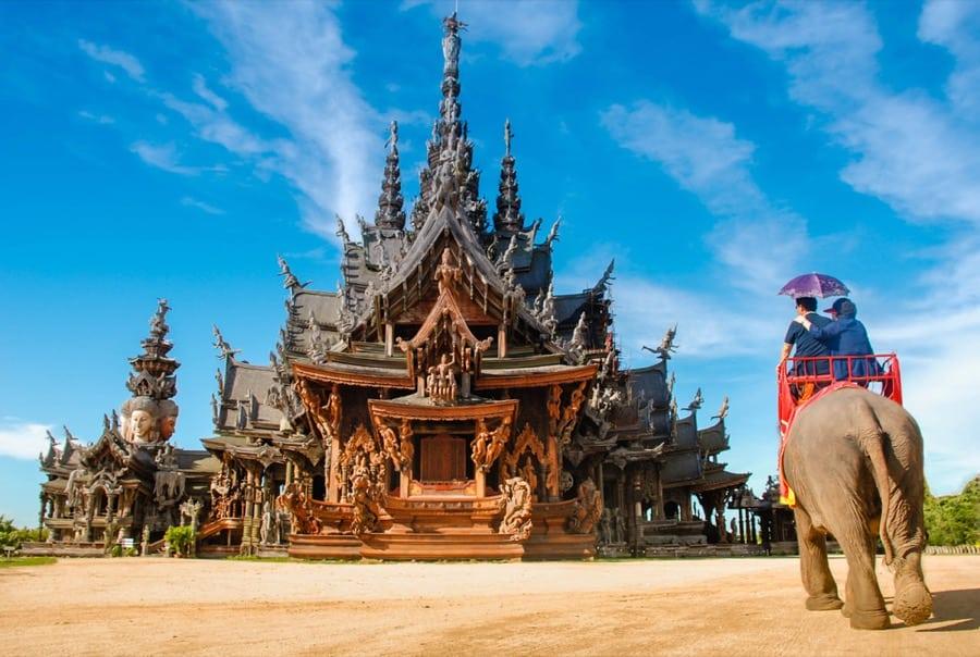 Santuario della verità a Pattaya