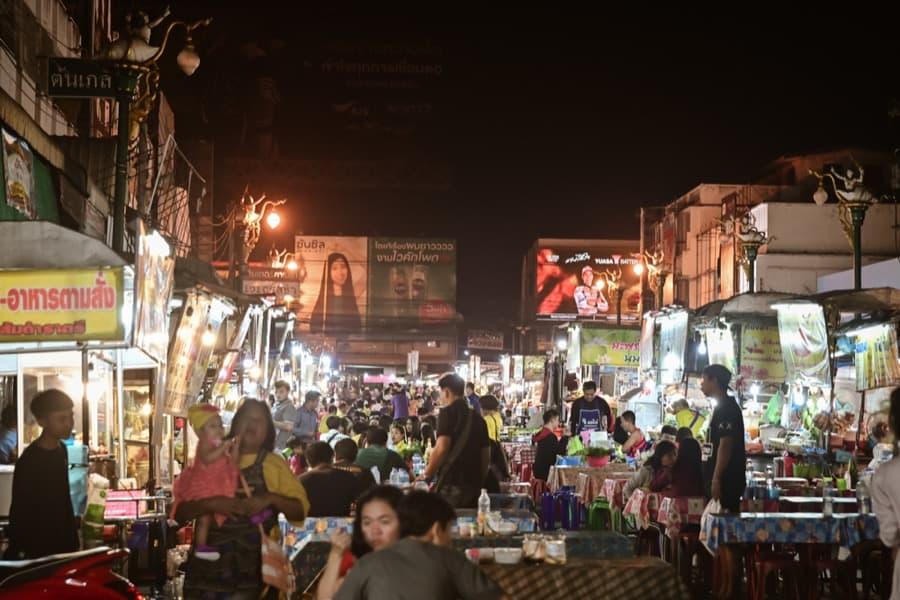 Street food a Khon Kaen