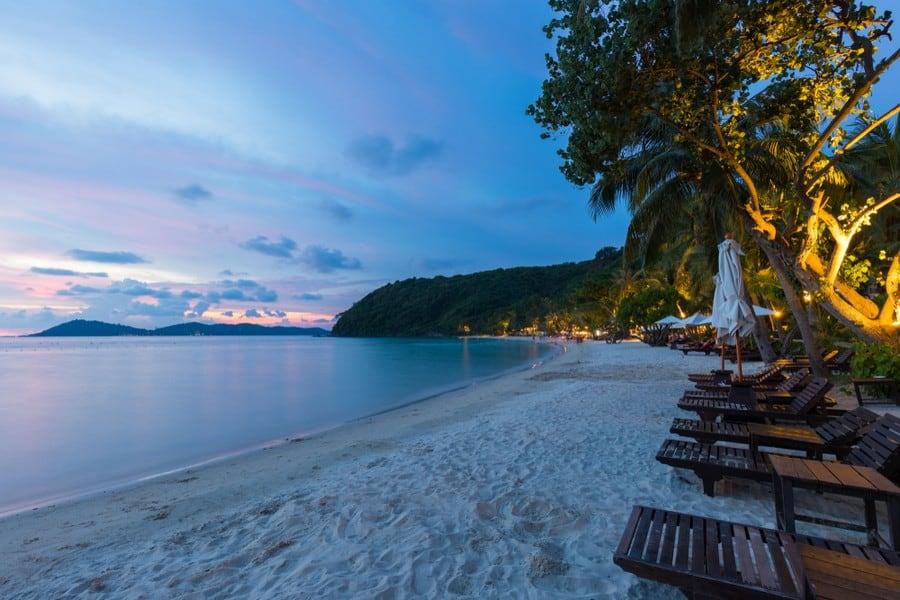 La spiaggia di Ao Phrao, Koh Samet