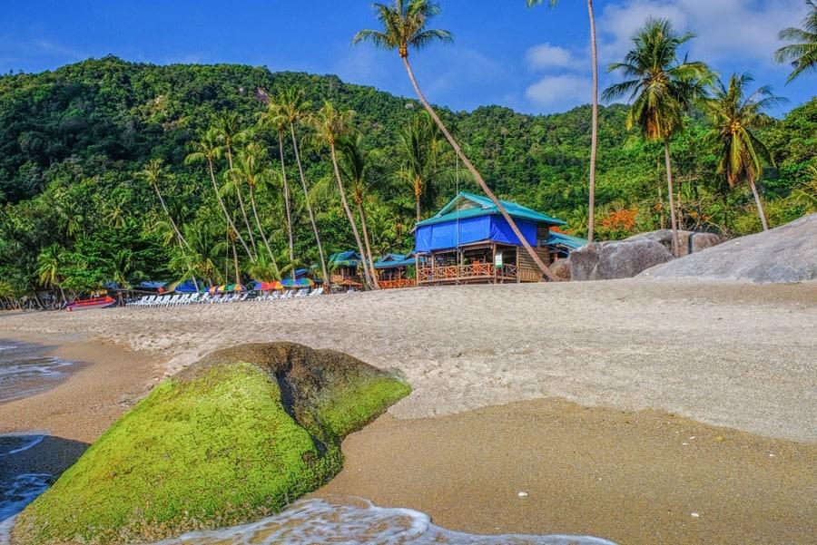 La spiaggia di Haad Yuan Beach, Koh Phangan
