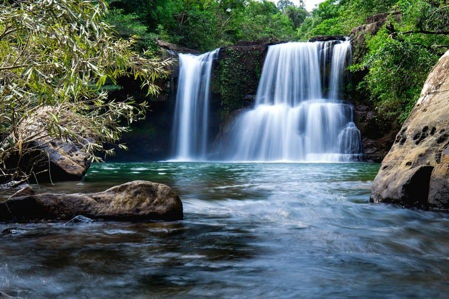 Le cascate Klong Chao Waterfall, Koh Kood