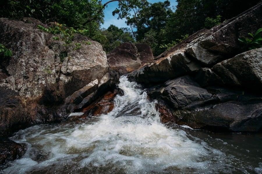 Le cascate di Than Sadet Falls, Koh Phangan