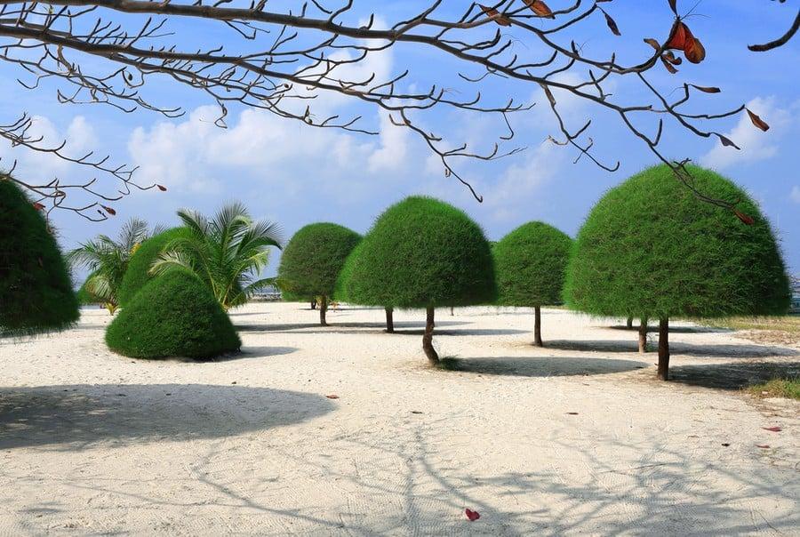 La spiaggia di Malibu Beach, Koh Phangan