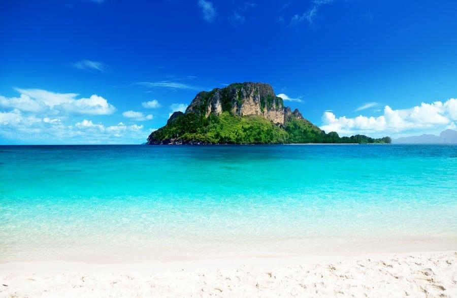 Una delle spiagge di Koh Poda